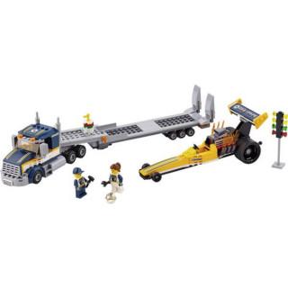 LEGO TRANSPORTER DRAGSTERA