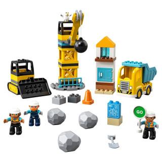 LEGO RUŠENJE KUGLOM