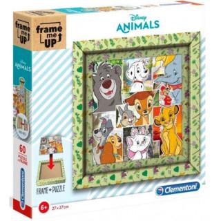PUZZLE 60 FRAME ME UP DISNEY ANIMAL