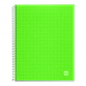 SVESKA A5 140L PP APPLE GREEN D.