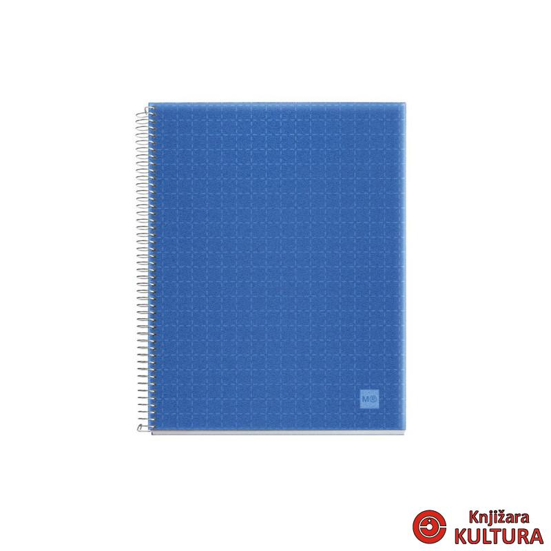 SVESKA A6 140 PP ASTRAL BLUE K.