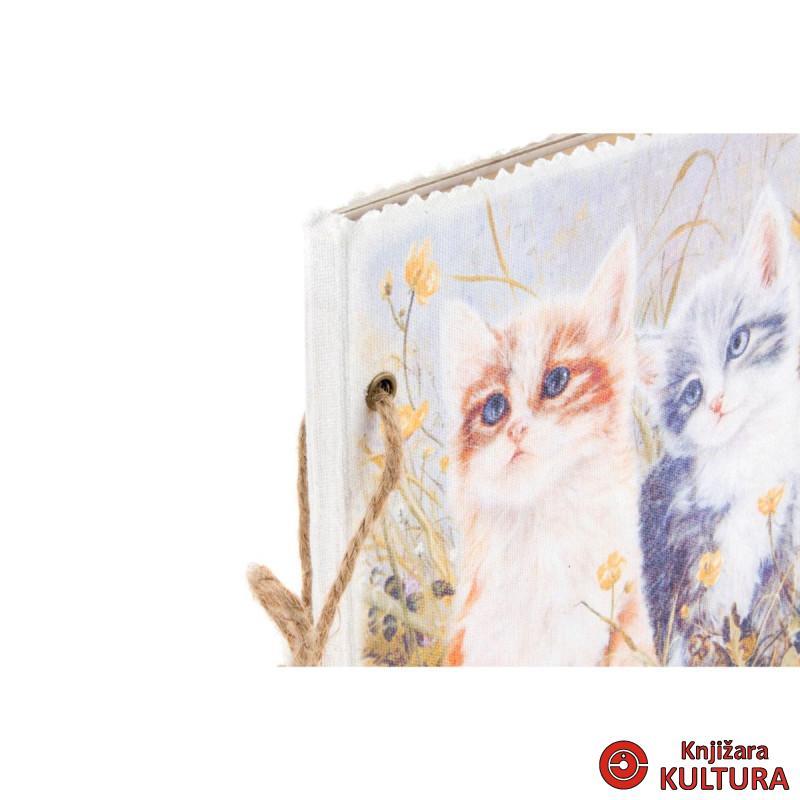 NOTES LINEN 17X17X1.5 CATS