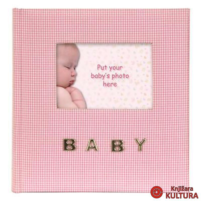 FOTO AL.100 10*15 BABY GINGHAM PINK