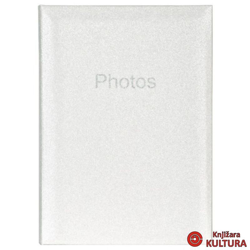 FOTO ALBUM 300 10X15 GLITTER WHITE 4308452