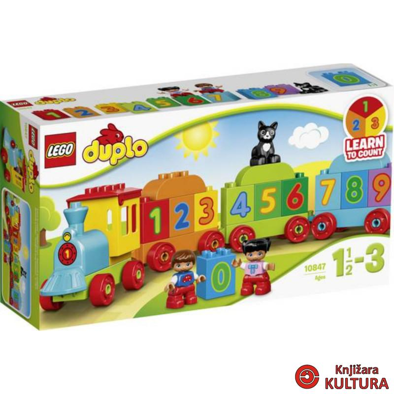 LEGO DUPLO VOZ SA BROJEVIMA