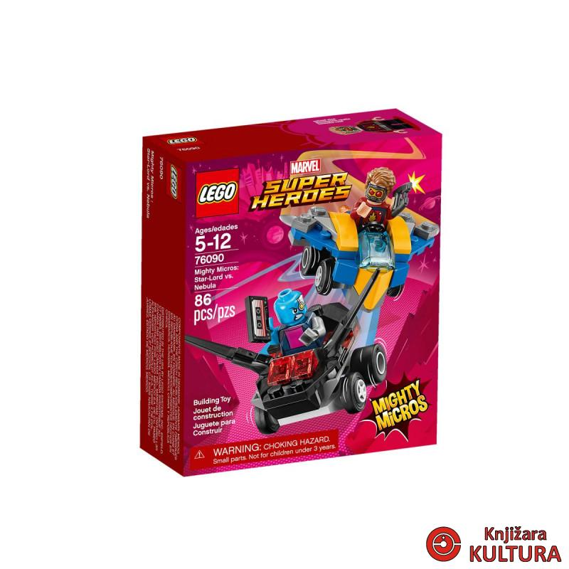 LEGO STAR LORD PROTIV NEBULA