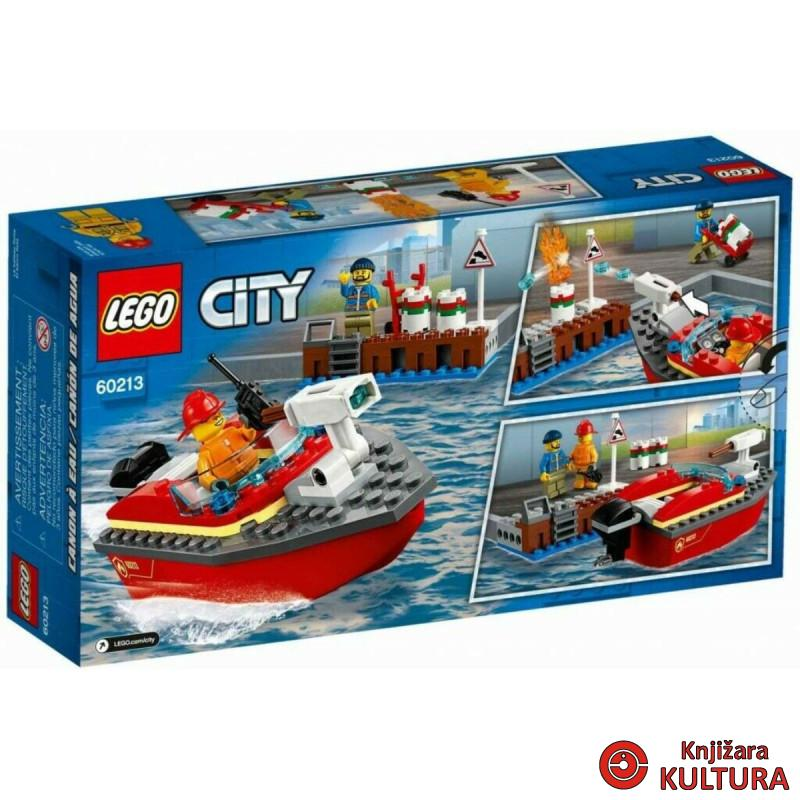LEGO POŽAR NA DOKOVIMA