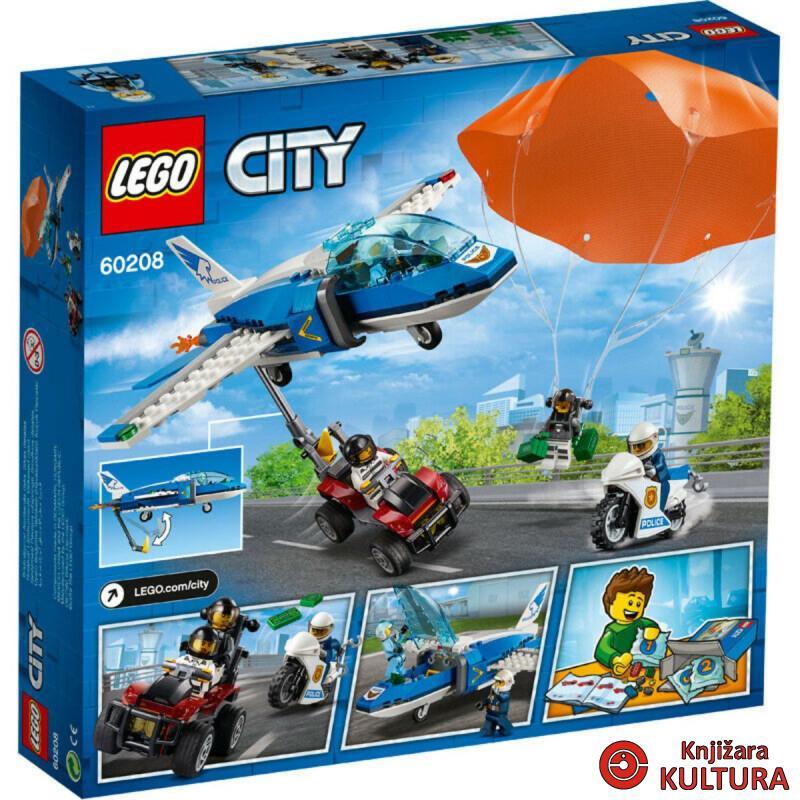 LEGO UHIĆENJE PADOBRANCA S NEBES.POLIC