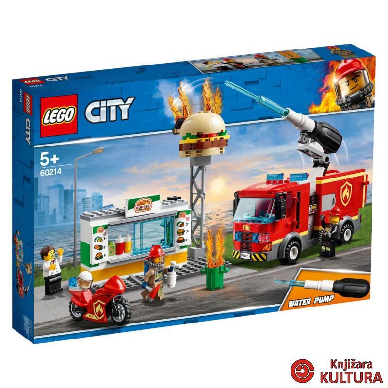 LEGO SPAŠAVANJE BURGER BARA OD POŽAR