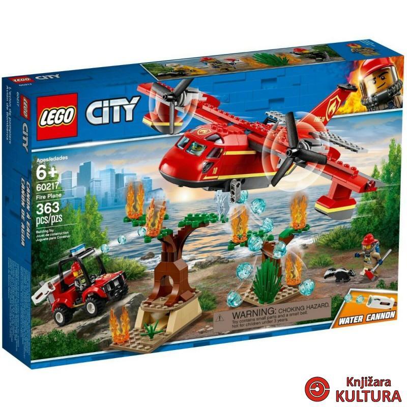 LEGO VATROGASNI AVION