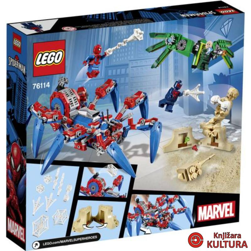 LEGO SPIDER-MANOVA PAUČJA GUSJENICA