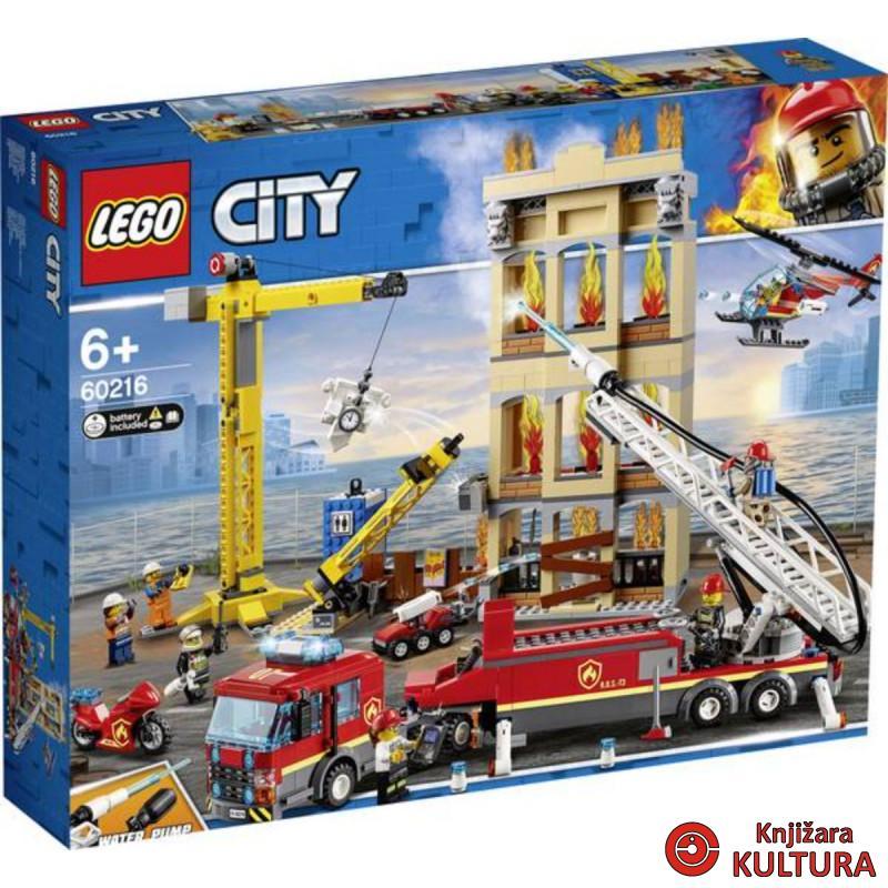 LEGO VATROGASNA BRIGADA U CENTRU