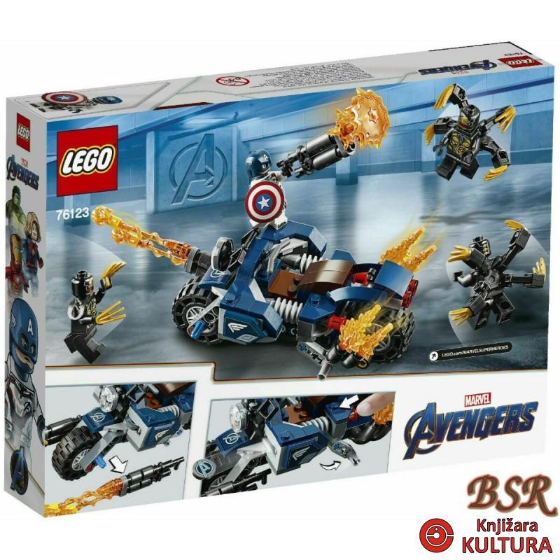 LEGO KAPETAN AMERICA:OUTRIDERS