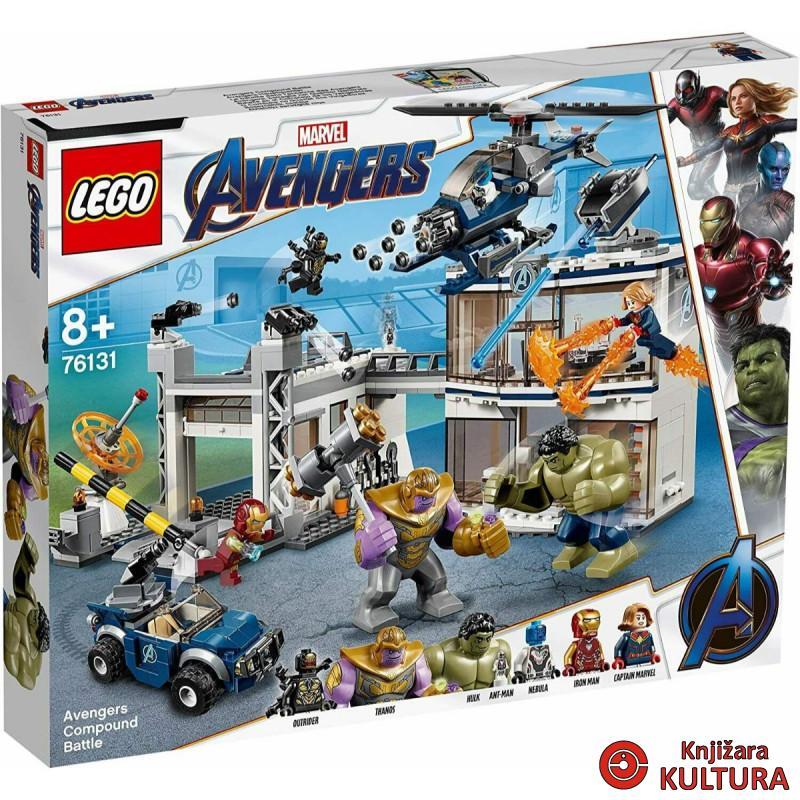 LEGO AVENGERS BORBA