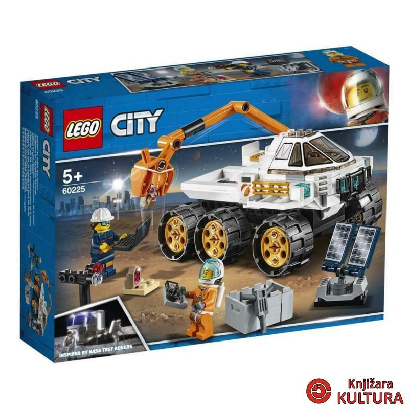 LEGO PROBNA VOŽNJA U ROVERU