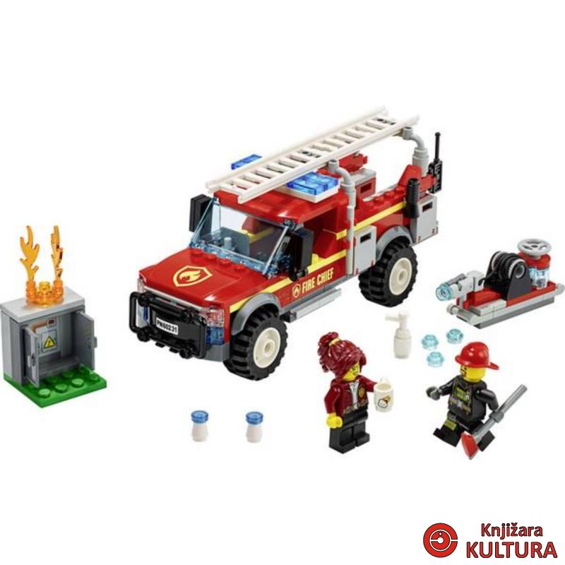LEGO KAMION VATROGASNOG KOMANDIRA