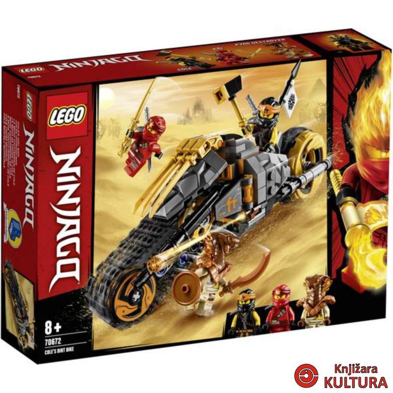 LEGO COLEOV BRDSKI MOTOCIKL