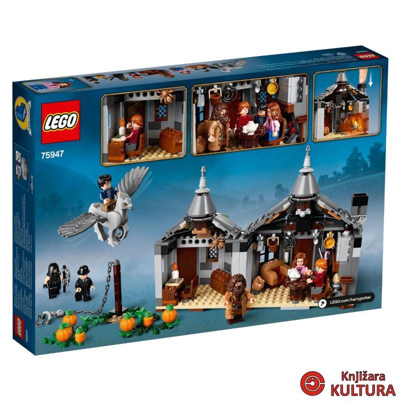 LEGO HAGRIDOVA KOLIBA SPAŠAVANJE BUCKBEAKA
