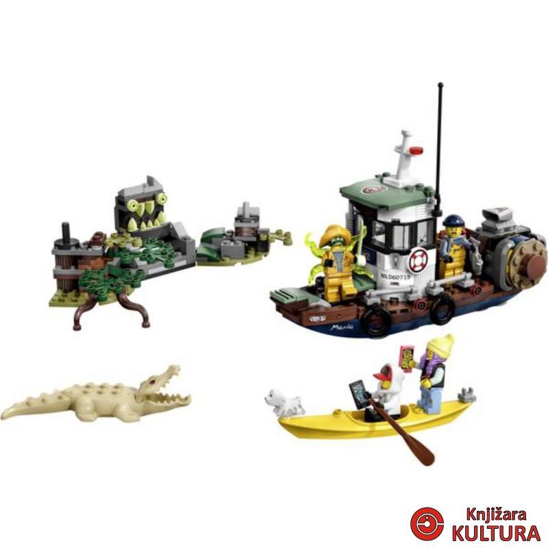 LEGO OLUPINA BRODA ZA LOV NA ŠKAMPE