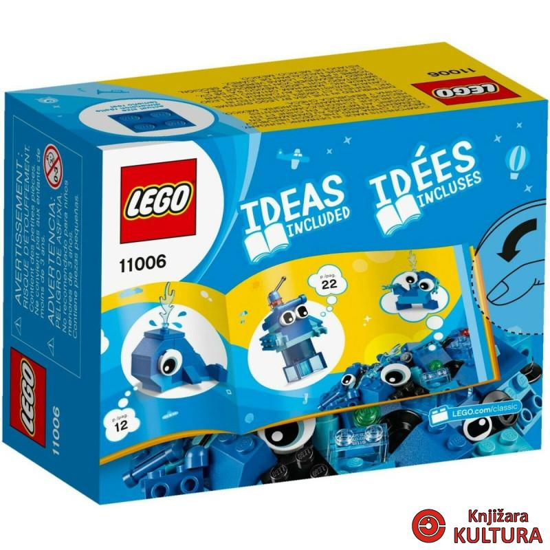 LEGO KREATIVNE PLAVE KOCKICE