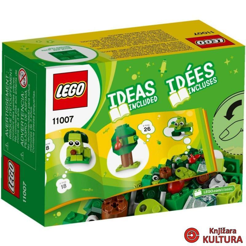LEGO KREATIVNE ZELENE KOCKICE