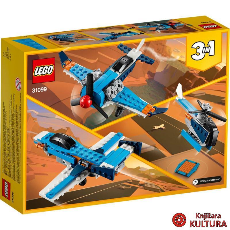 LEGO AVION S PROPELEROM