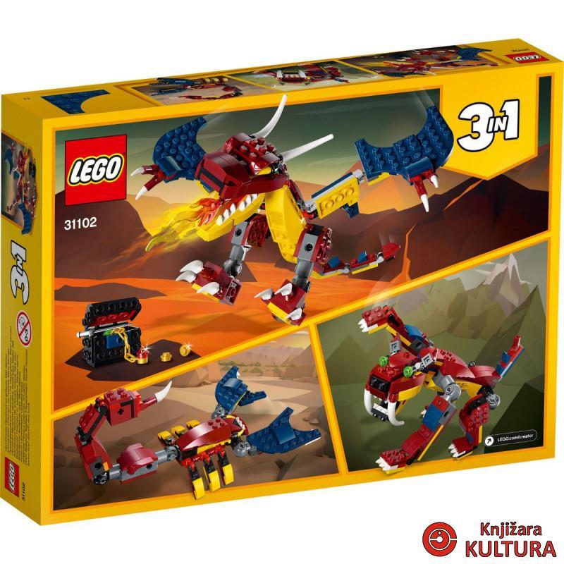 LEGO VATRENI ZMAJ