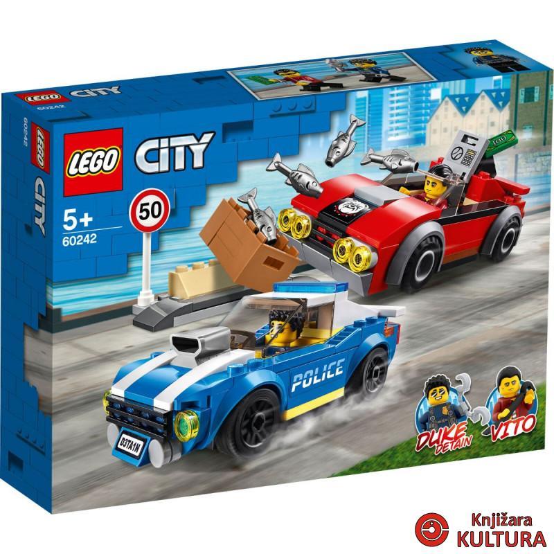 LEGO HAPŠENJE NA AUTOCESTI