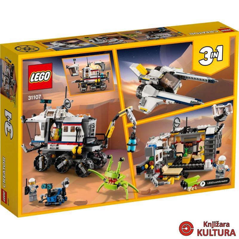 LEGO ISTRAŽIVAČKI SVEMIRSKI ROVER