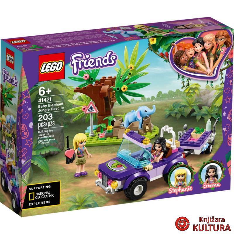 LEGO SPAŠAVANJE MALOG SLONA U DŽUNGLI