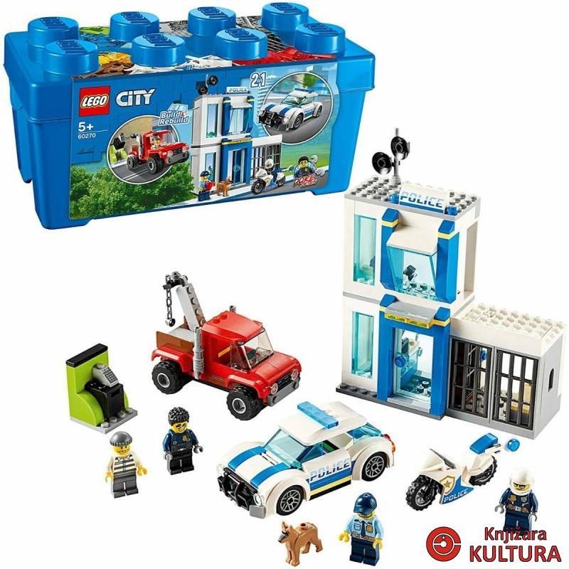 LEGO KUTIJA SA KOCKICAMA POLICIJA
