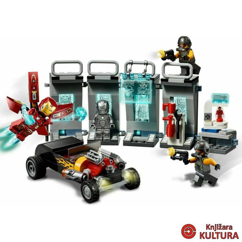 LEGO IRON MAN NAORUŽANJE