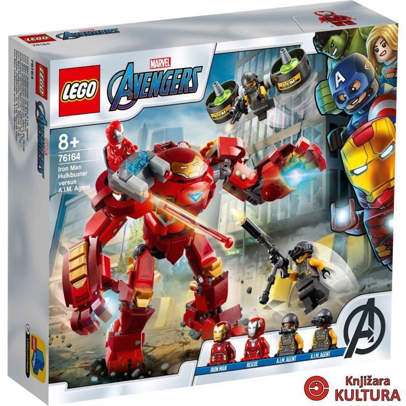 LEGO IRON MAN HULKBUSTER PROTIV A.I.M. AGENTA