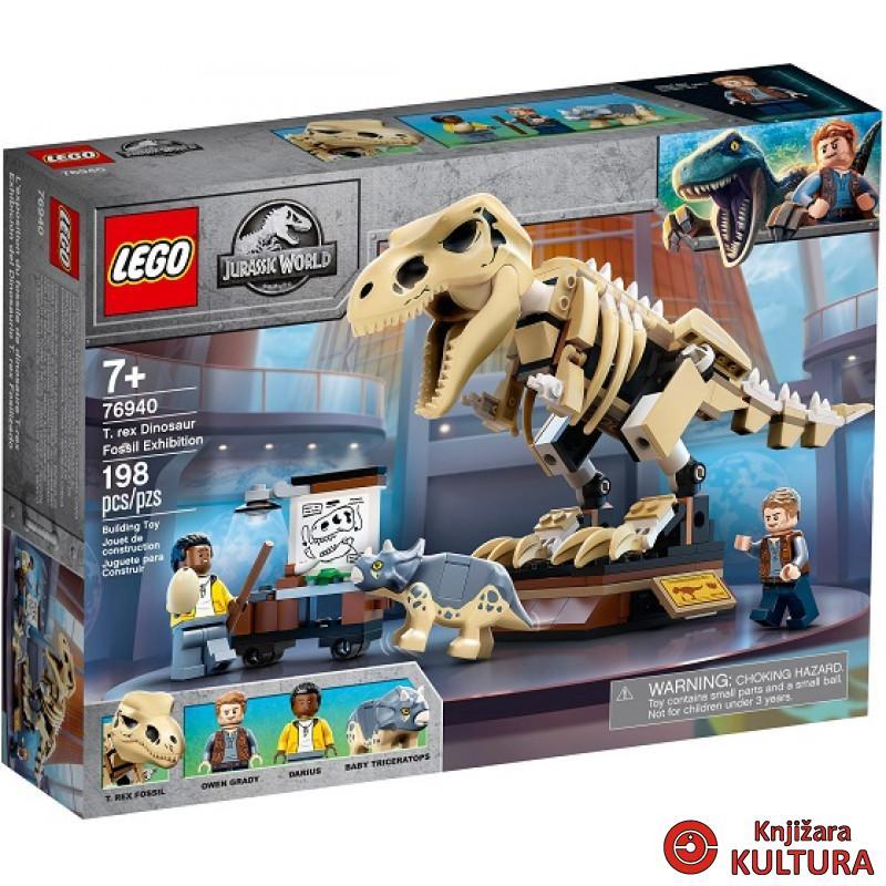LEGO IZLOŽBA FOSILA T-REXA