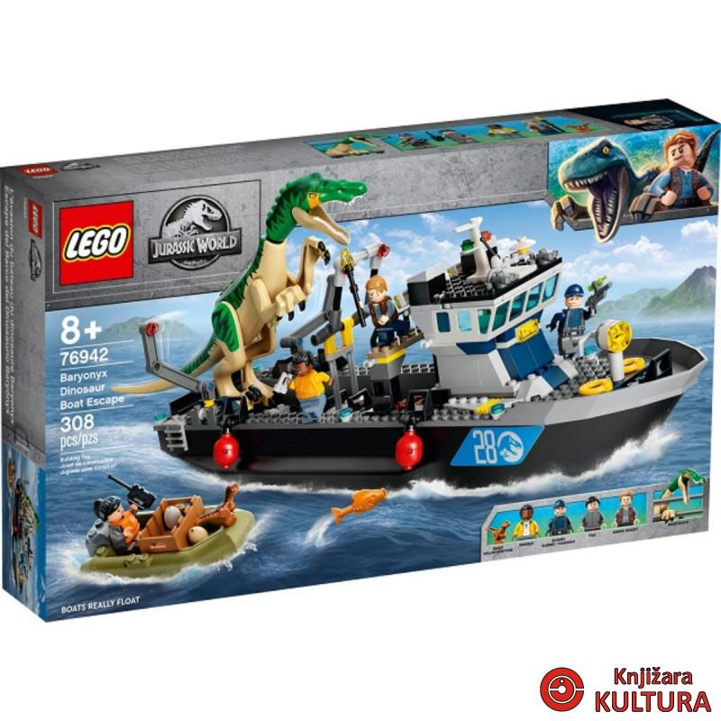 LEGO BIJEG BRODOM SA BARYONIX DINOSAURUSOM