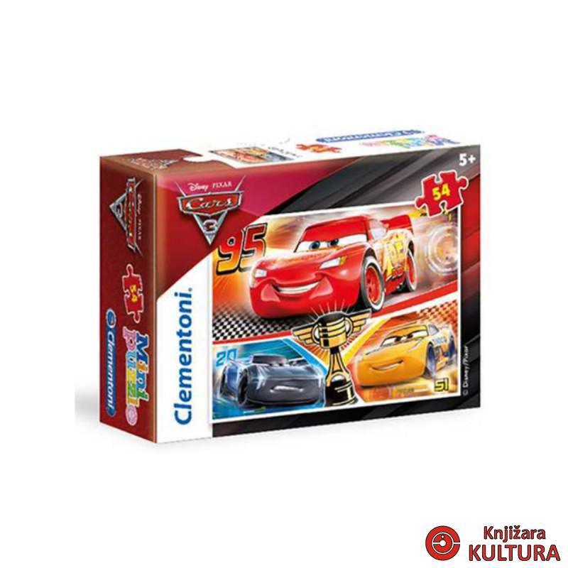 MINI PUZZLE 54 CARS 3
