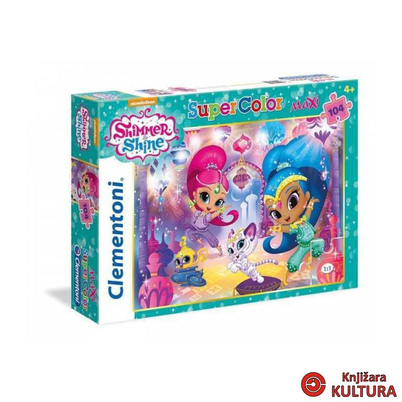 PUZZLE 104 MAXI SHIMMER AND SHINE