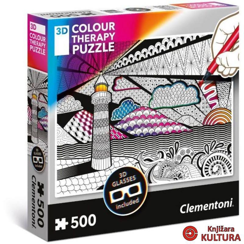 PUZZLE 500 3D SVJETIONIK