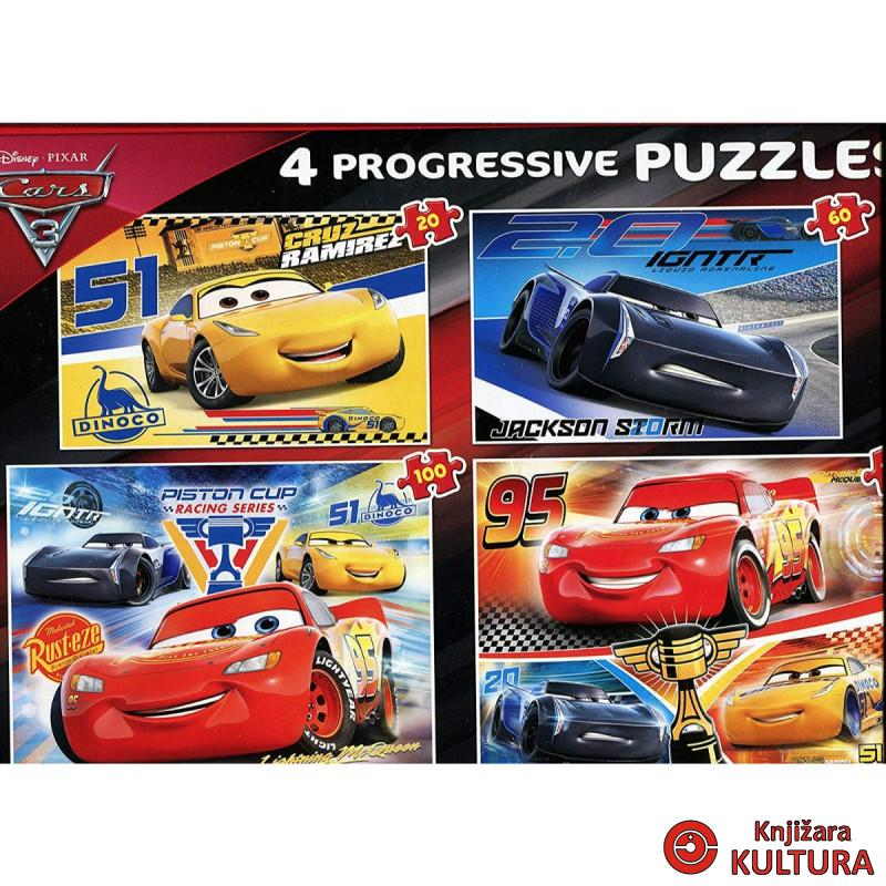 PUZZLE 20+60+100+180 CARS 3