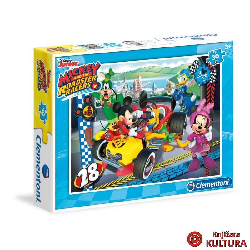 PUZZLE 30 MICKEY AND THE ROADSTER RACERS