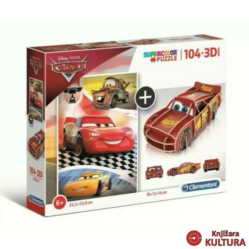 PUZZLE 104 +3D MODEL CARS 20160