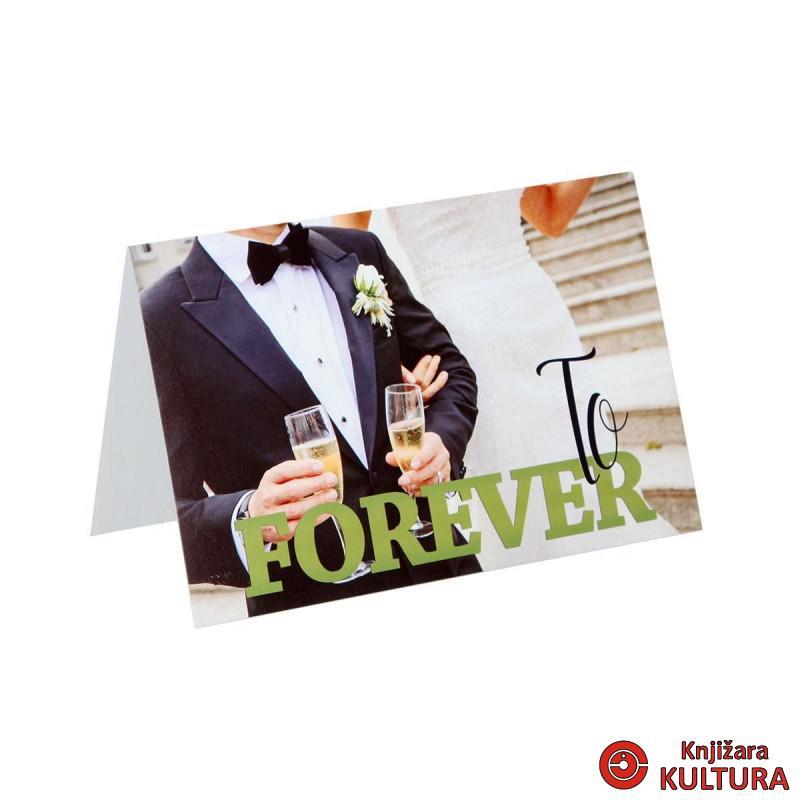 ČESTITKA WEDDING FOREVER